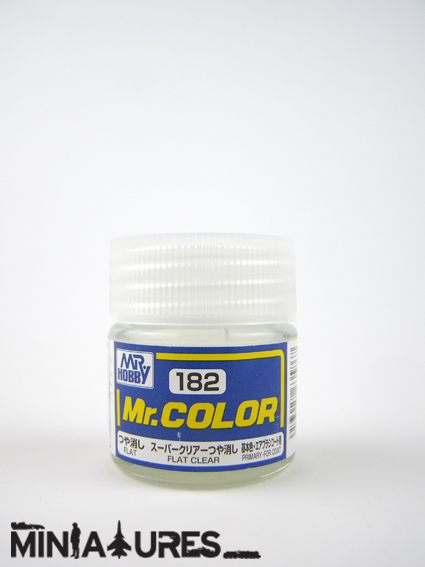 Mr. Color flat clear