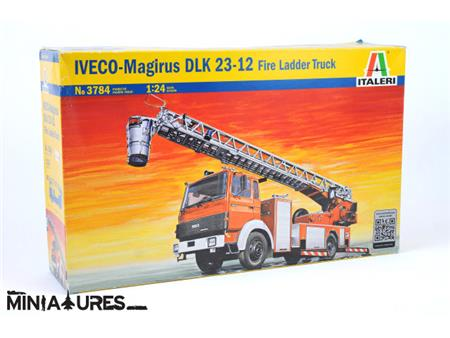 IVECO-Magirus DLK 23-12 Fire Ladder Truck