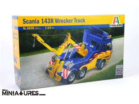 Scania 143R WRECKER TRUCK