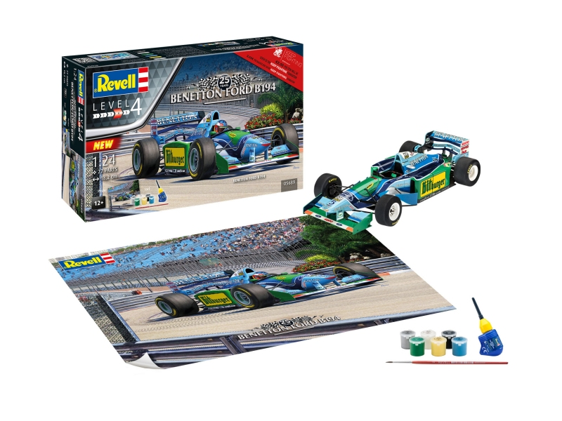 Maketa formule 25th Anniversery Benetton Ford B194 05689