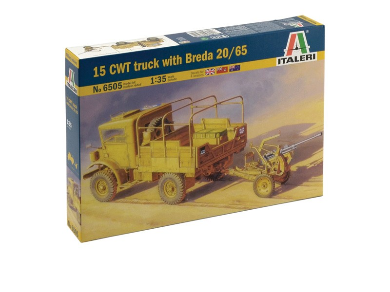 15 CWT truck with Breda 20/65