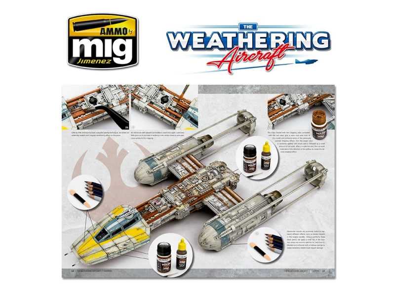 THE WEATHERING AIRCRAFT (Chipping)