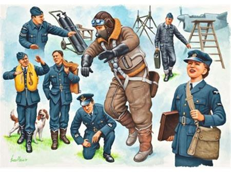 Pilots & Ground crew (Royal Air Force WWII)
