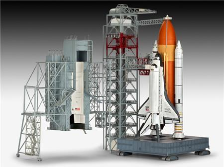 Launch Tower & Space Shuttle