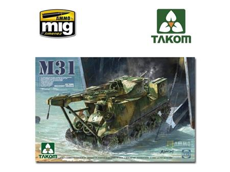 M31 US Tank recovery vehicle
