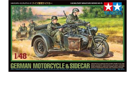 Motorcycle & Sidecar