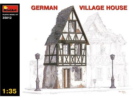 German Village house