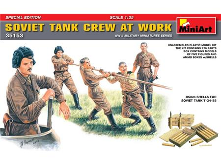 Soviet Tank crew at work SPECIAL EDITION