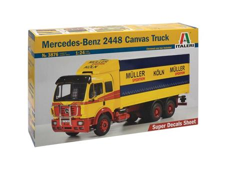 Mercedes benz 2448 Canvas Truck