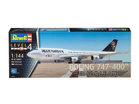 Boeing 747-400 ED FORCE ONE (Iron Maiden)