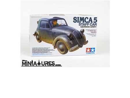 SIMCA 5 (Staff car)