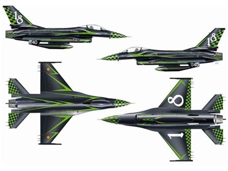 "F-16 Fighting Falcon ""Special Colors"""