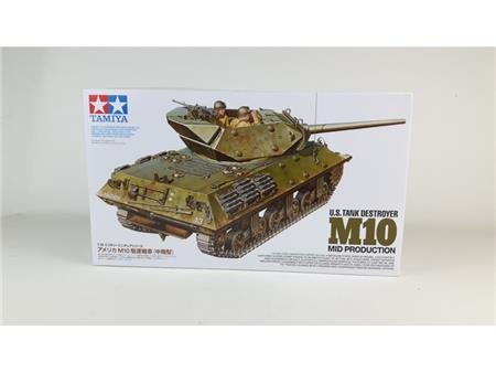 U.S. Tank destroyer M10 (Mid production)