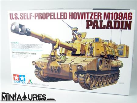 U.S.SELF-PROPELED HOWITZER M109A6 PALADIN