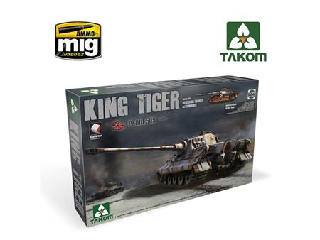 King Tiger Henschel Turret ABT.505