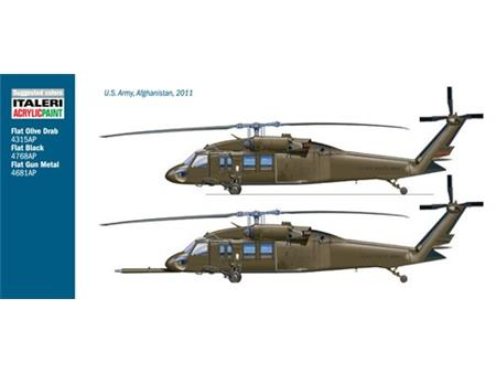 "UH-60 Black Hawk ""Night Raid"" 1:48"