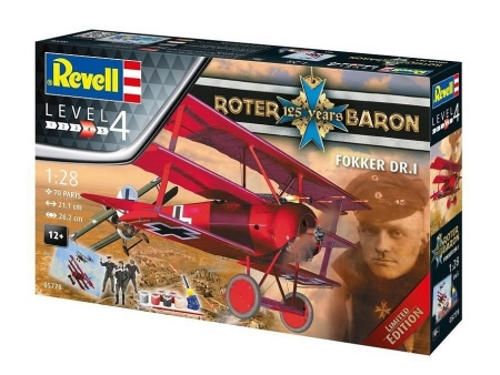 Fokker Dr.I (Rotter 125 years Baron)