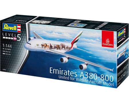 Emirates A380-800 (United for Wildlife Aircraft Model)
