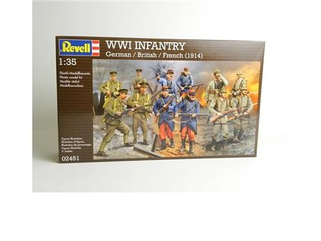WWII INFANTRY (German,British, French) 1914