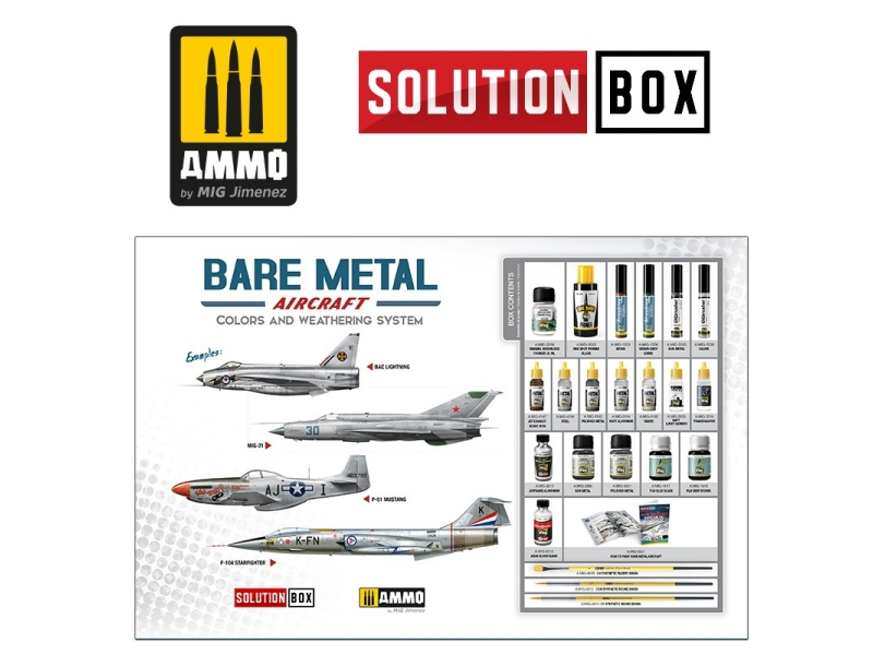 Kovinska letala (Bare metal Aircraft) Solution box
